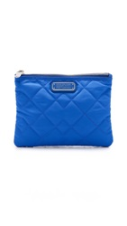 Marc By Marc Jacobs Crosby Double Zip Cosmetic Pouch Neptune Blue