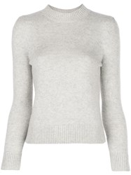 Co Cashmere Round Neck Jumper Neutrals