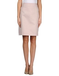 Just In Case Knee Length Skirts Lilac