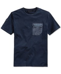 Sean John Flight Short Sleeve Pocket T Shirt