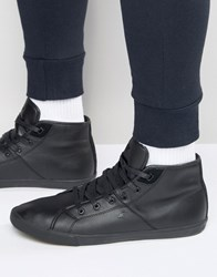 Boxfresh Archit Leather Trainers Black