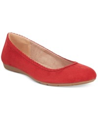 Styleandco. Style Co. Ciara Flats Only At Macy's Women's Shoes Red