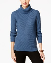 G.H. Bass And Co. Turtleneck Sweater Atlantic Blue