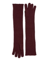 Lord And Taylor Long Knit Gloves Ivory
