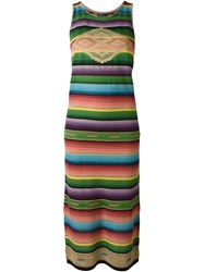 Polo Ralph Lauren Striped Knit Dress Multicolour