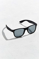 Urban Outfitters Squared Matte Sunglasses Black