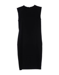 Alberto Biani Short Dresses Black