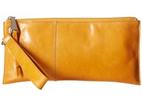 Hobo Vida Saffron Clutch Handbags Orange