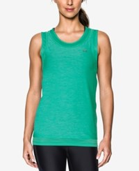 Under Armour Sport Heathered Muscle Tank Top Absinthe Green