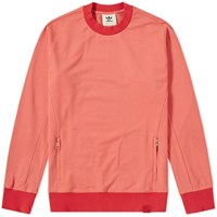 Adidas Consortium X Oyster Holdings Xbyo Crew Sweat Red