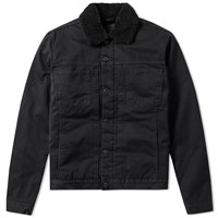 Edwin Pan Denim Jacket Black