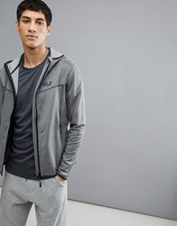 Jack Wolfskin Sutherland Hooded Jacket In Grey Tarmac Grey