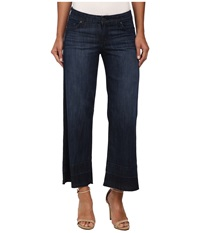 Cj By Cookie Johnson Wide Crop W Frayed Hem In Mason Mason Women's Jeans Multi