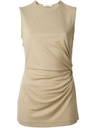 Givenchy Gathered Tank Top Nude And Neutrals
