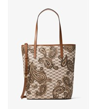 Emry Large North South Heritage Paisley Tote
