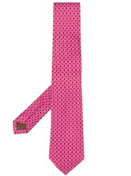 Church's All Over Pattern Tie Red