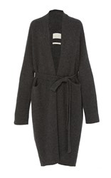Lauren Manoogian Cashmere Robe Coat Grey