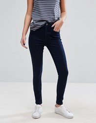 Only Royal Skinny Jean High Rise Dark Blue Denim
