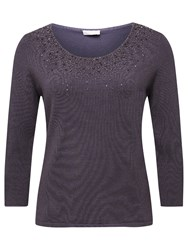 Jacques Vert Sparkle Jumper Dark Purple
