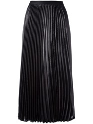 Diane Von Furstenberg 'Heavyn Lurex' Skirt Black