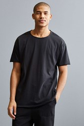 Feathers Slouch Fit Tee Black