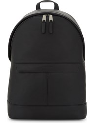 Michael Kors Odin Smooth Leather Backpack Black