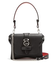 Christian Louboutin Rubylou Small Leather Shoulder Bag Black
