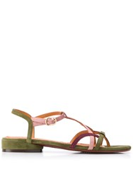 Chie Mihara Strappy Sandals Green