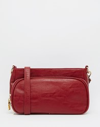 Liquorish Cross Body Bag Red