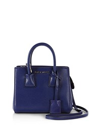 Karen Millen Investment Saffiano Satchel Blue