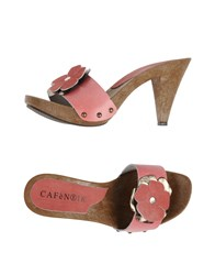 Cafe'noir Cafenoir Mules Light Purple