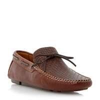 Bertie Benzel Slip On Casual Loafers Tan