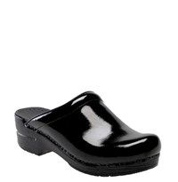 Dansko Women's 'Sonja' Patent Leather Clog Black Patent