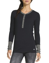 Under Armour Infrared Henley Black