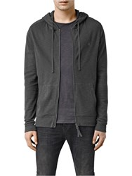 Allsaints Clash Full Zip Hoody Washed Black