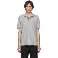 Burberry Grey Eddie Polo