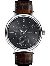 Iwc Iw510102 Portofino Leather Watch