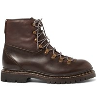 Rag And Bone Leather Hiking Boots Brown