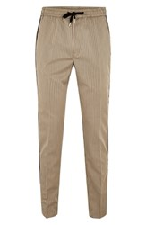Topman Slim Fit Pinstripe Jogger Pants