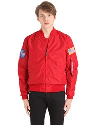 Alpha Industries Ma 1 Tt Nasa Reversible Bomber Jacket