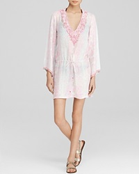 Taj Embellished Silk Python Print Tunic Bloomingdale's Exclusive