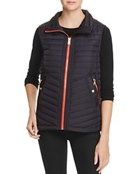 Vince Camuto Quilted Vest Midnight