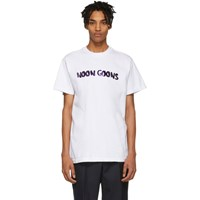 Noon Goons White Leopard Logo T Shirt