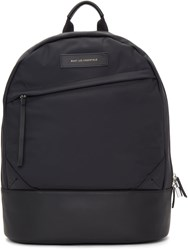 Want Les Essentiels Black Nylon Kastrup Backpack