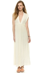 Madewell Dominica Cover Up Maxi Dress Pearl Ivory
