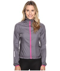 Pearl Izumi W Elite Barrier Cycling Jacket Smoked Women's Workout Gray