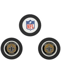 Team Golf New Orleans Saints 3 Pack Poker Chip Markers Black
