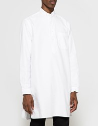 Gitman Brothers Vintage Long Night Shirt Oxford White
