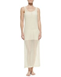 L Space Ramona Crochet Coverup Dress Natural