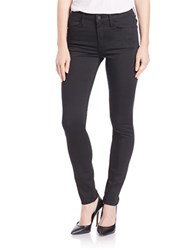 Buffalo David Bitton High Rise Skinny Jeans Black
